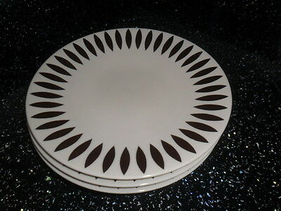 Marks And Spencer Andante Leaves Salad Plates X 4