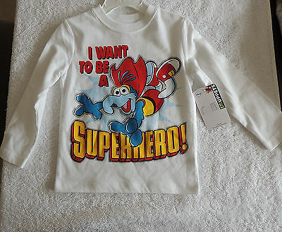 NEW Unisex Toddler Baby, Long Sleeve Shirt, Muppets, Gonzo, Size 2T, Birthday