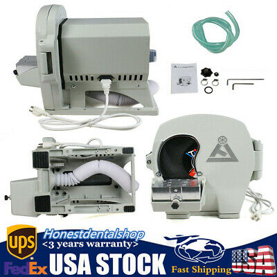 Dental Wet Model Trimmer Abrasive Machine Gypsum Arch Inner Disc Wheel 500W