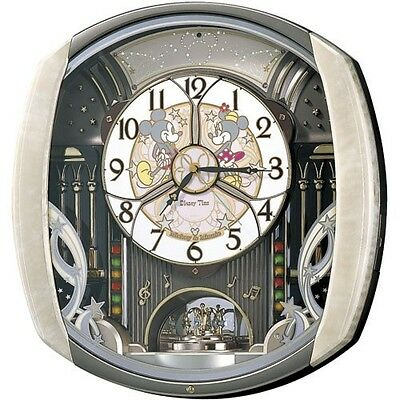 F/S  SEIKO CLOCK Disney watch Mickey Mouse Minnie Mouse FW563A From Japan