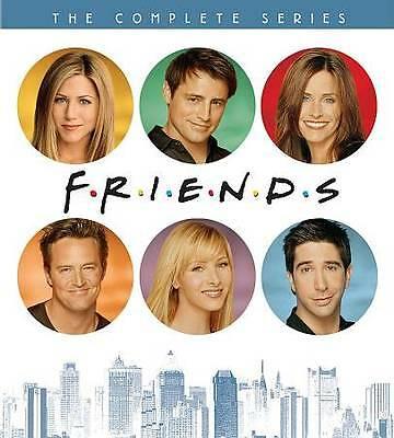 Friends The Complete Series Collection Season 1,2,3,4,5,6,7,8,9,10 DVD New