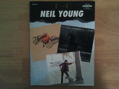 Neil Young Classic Guitar Tab Songbook Tablature