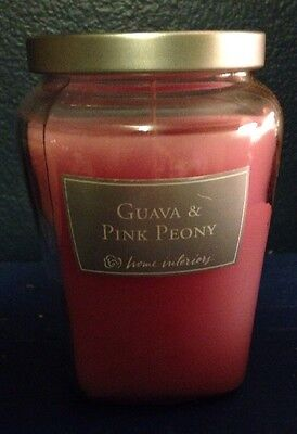 Home Interior Guava & Pink Peony Scent Candle