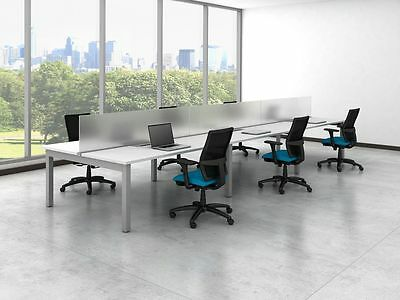 Oxygen Modern Collaborative Open Office Workstation/Desk/Table/Cubicle/Benching