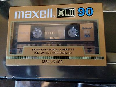 Lot of 6 Cassette Tapes New Sealed 3 Maxell XLII 90 & 100 + 3 / D90 TDK
