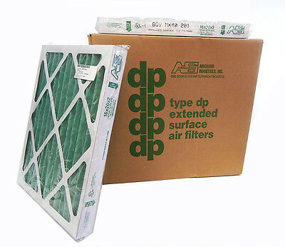 12pk AirGuard DP Max Pleated Panel Extended Surface Air Filter MX40 201 16x20x2