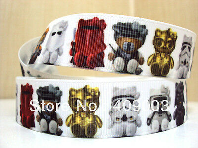 """Star Wars Ribbon 3//8/"""" Wide 2m is only £1.29 NEW UK SELLER FREE P/&P"""