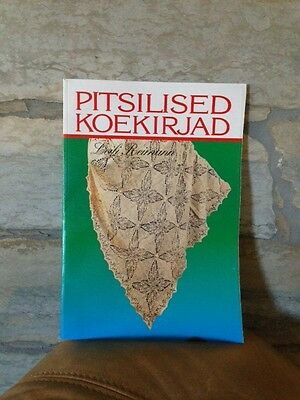 ESTONIAN KNITTING LACEMAKING BOOK PITSILISED KOEKIRJAD 3rd Latest Edition 1995