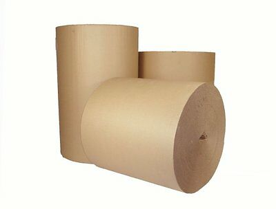 500mm 20'' x 10 M CORRUGATED STRONG CARDBOARD PAPER ROLLS packaging parcel post