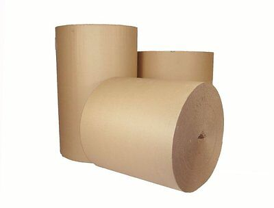 5m x 750MM 30'' CORRUGATED STRONG CARDBOARD PAPER ROLLS packaging parcel post