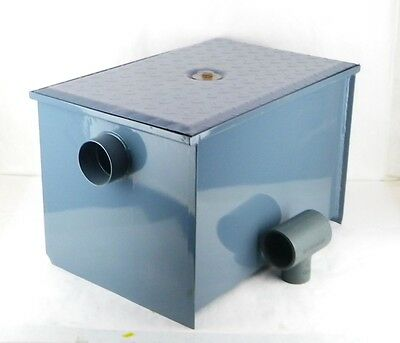 "WATTS WD-20 3"" Pipe Epoxy Coated Grease Trap Interceptor For Cast Iron Pipe PA"
