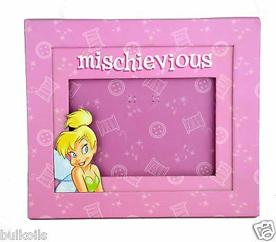 NEW Disney Tinker Bell Tinkerbell Mischievious Picture Photo Frame 3.5 x 5 TINK