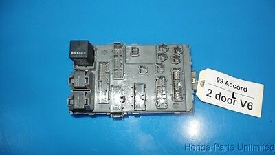 98-02 honda accord oem in-dash fuse box with fuses relays factory part
