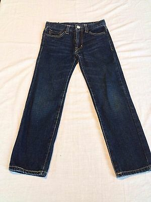 "-*P200  Preowned Children's PIPING HOT Size 7 Waist 25"" Straight Leg Jeans"