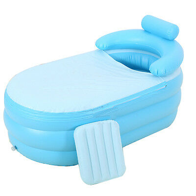 Portable Spa folding Bathtub Inflatable Bath Tub Kit for Adult VFFRG