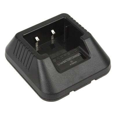 Li-ion Battery Charger For BaoFeng 5R Series Two-Way Radio Black