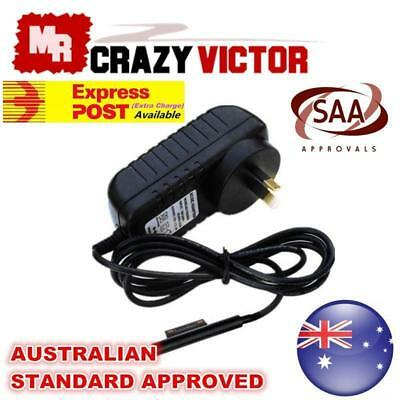 12V AC Charger Power Supply Adapter&AU Cable For Microsoft Surface Pro 3 4 Tab