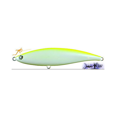 ARTIFICIALE SEASPIN JANAS 70S 9g 70mm SINKING COLORE ALB