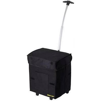 """BLACK SMART CART  by D BEST 01-018 FOLDS TO 2""""  WEIGHS 3LBS GREAT FOR CROPS NEW"""