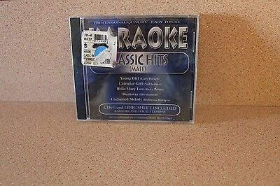 Karaoke Classic Hits Male NEW & SEALED CD Ricky Nelson Righteous brothers