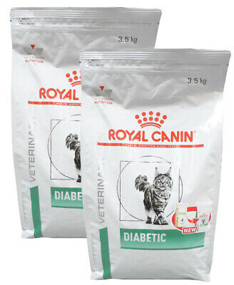 2x3,5kg Royal Canin Diabetic DS46 Veterinary Diet Katzenfutter