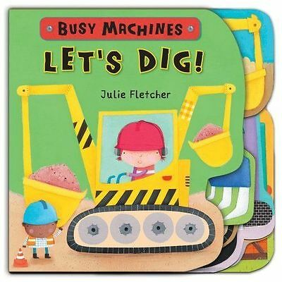 Let's Dig! (Busy Machines), New,  Book