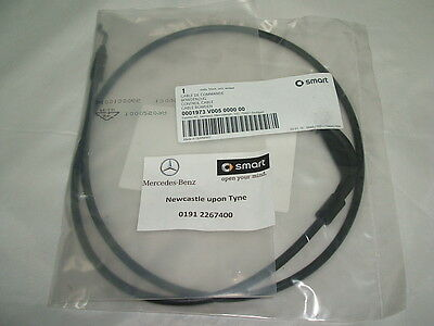 Genuine Smart (450) Fortwo Front Interior Door Cable Q0001973V005 NEW