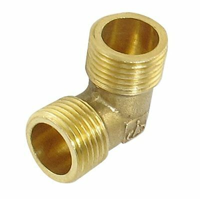 Brass Water Pipe Male Elbow Adapter Connector 1/2 3/4 1 inch Thread Fittings