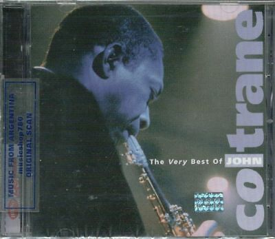 John Coltrane Very Best Sealed Cd New Greatest Hits