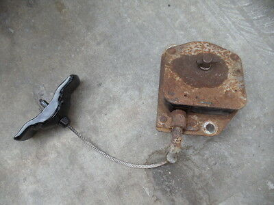 98-03 DODGE Durango Spare tire winch hoist mount carrier used