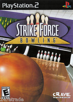 Strike Force Bowling (Playstation 2 PS2) DISC ONLY