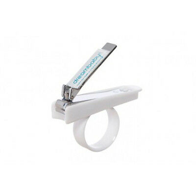 Dreambaby Baby Nail clippers with holder - Suitable from Birth - White