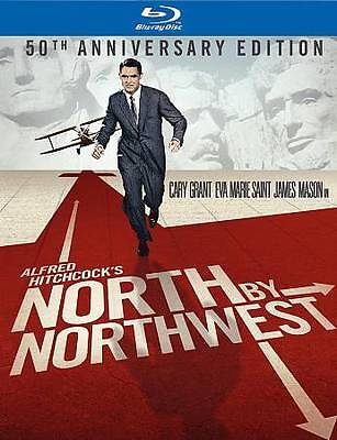 North by Northwest 50th Anniversary Edition Blu-Ray + Book LIKE NEW (Hitchcock)
