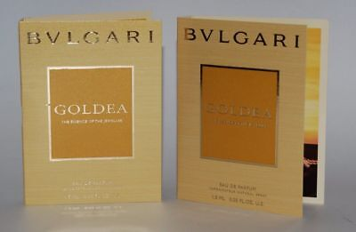 BULGARI AQUA DIVINA Sample proben 0.03oz / 1,5mlx3 samples 4.5ml total EDT