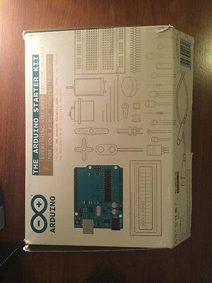The Arduino Starter Kit (Official Kit from Arduino with 170-page Arduino Project