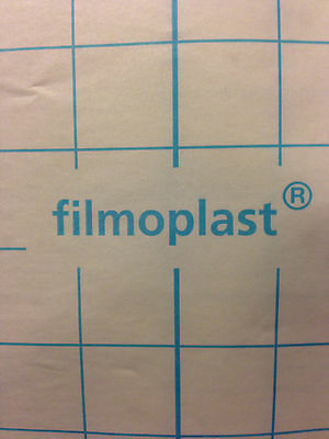 Filmoplast Self Adhesive Sticky Backing Embroidery Stabiliser 1m widths.