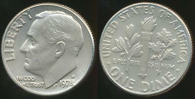 United States, 1978-D Dime, Roosevelt - Choice Uncirculated