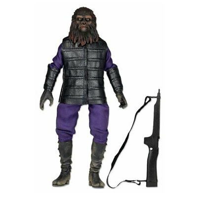 "NECA - 8"" Figure - Planet Of The Apes - Clothed Classic Gorilla Soldier"