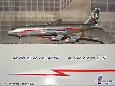 INflight 200 American Airlines Freight B707 -300 N7557A 1/200 **Free S&H**