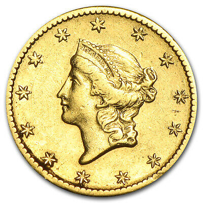 $1 Liberty Head Gold Type 1 (Cleaned) - SKU #55499