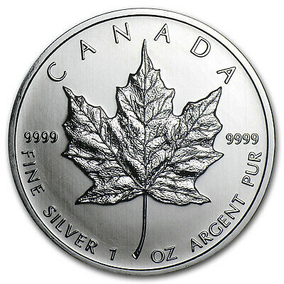 2011 Canada 1 oz Silver Maple Leaf BU - SKU #59158