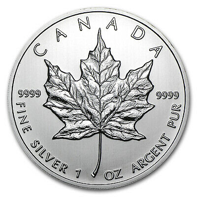 2012 Canada 1 oz Silver Maple Leaf BU - SKU #65203