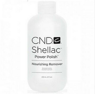 CND Shellac Nourishing Remover Remove all gels/acrylic 8oz/236mL ~2ct~