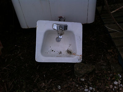 Kohler Antique Porcelain Bathroom Lavatory Kitchen Sink Cast Iron Farm Pantry