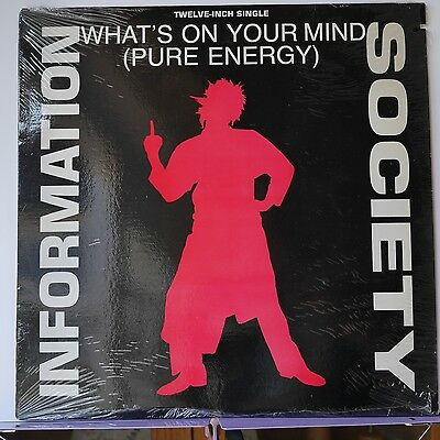 "Information Society What's On Your Mind 1998 5 Track Us Tommy Boy 12"" Tb911 A"