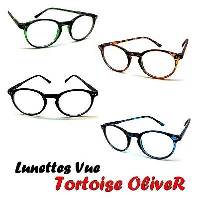 Lunettes Vue Tortoise Oliver Chic Dandy Rond Peoples Famous Mode Riley Accessoir