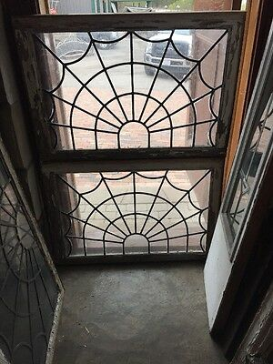 "Sg 235 Two Available Price Separately Spiderweb Transom Windows 26"" X 38"""