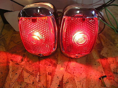 NEW REPLACEMENT TAIL LIGHT ASSEMBLIES FOR 40 41 47 48 49 50 51 52 53 CHEVY TRUCK