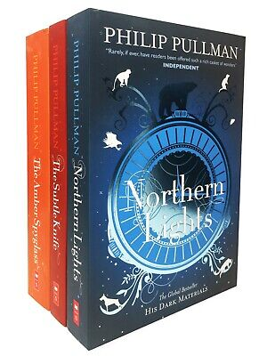 Philip Pullman His Dark Materials Trilogy 3 Books Collection Set Pack New Cover