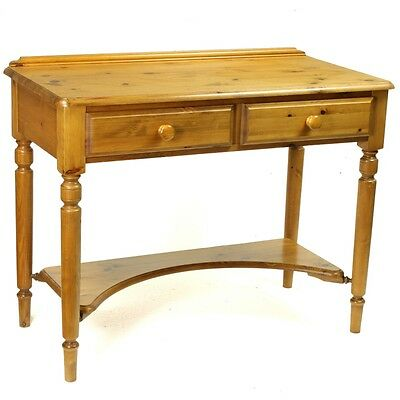 Retro Ducal Antique Farmhouse Pine Victorian Desk Dressing Table Washstand